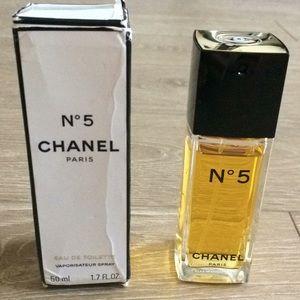 Chanel No. 5 eau de toilette.